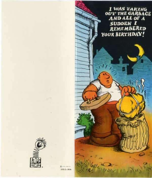 R crumbs early days as an illustrator for american greetings robert crumb is a comic art pioneer a trailblazer in the world of indie comix and one of americas most famous illustrators but before he became the big m4hsunfo Choice Image
