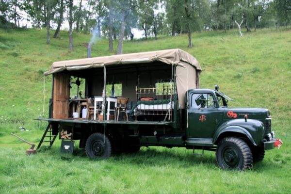 Epic Trucks, Trailers, Buses And Other Vehicles You Can Actually Stay In