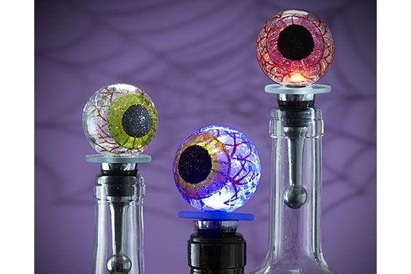 Eyeball Light Up Bottle Stopper Neatorama