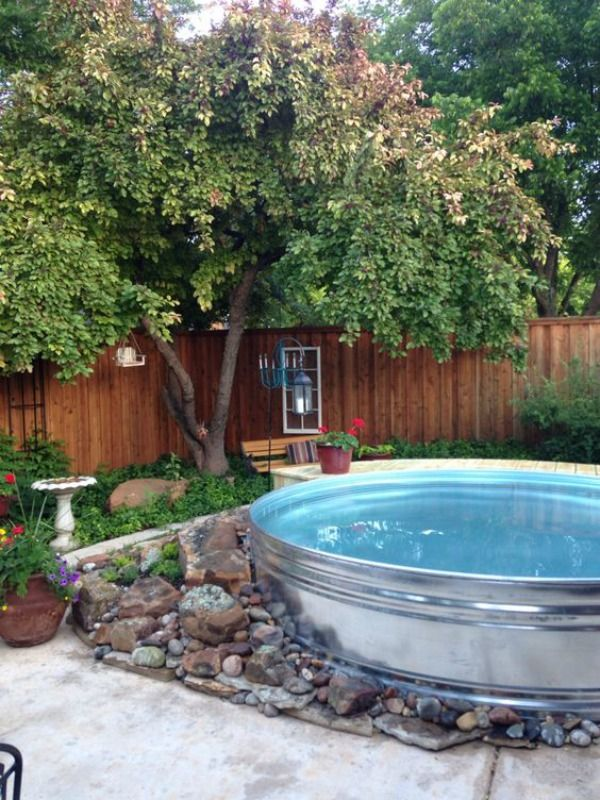 Stock Tank Pools Are Coming To A Backyard Near You This