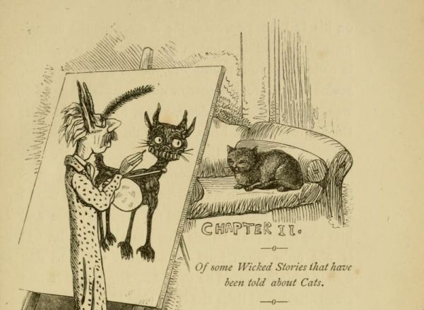 This 19th-Century Book Chronicles Victorians' Strange Cat Fears And Fascinations
