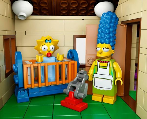 The simpsons house in lego is now official neatorama for Chambre lego