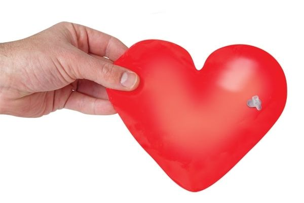 Instant Love Inflatable Heart