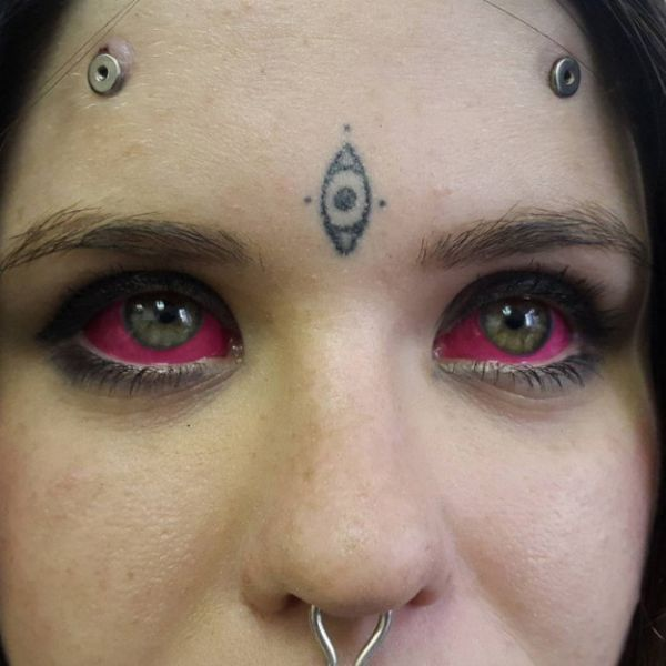 Painful places to get tattooed ranked from least to most for Places to get a tattoo