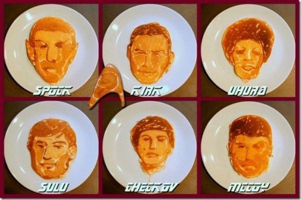 Star Trek pancakes
