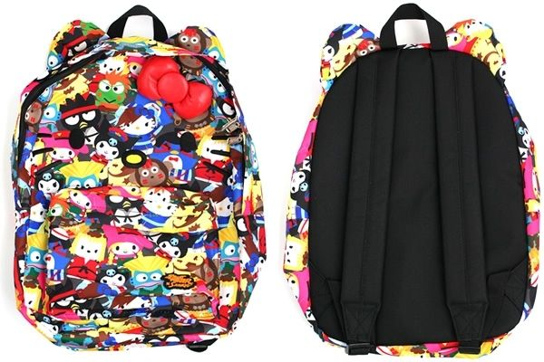 Street Fighter Hello Kitty Backpack 38b1ca200481d