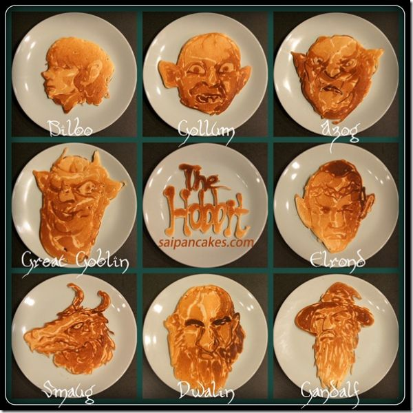 Hobbit pancakes