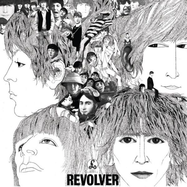 Revolver the beatles 39 greatest album neatorama for Love is a four letter word album cover