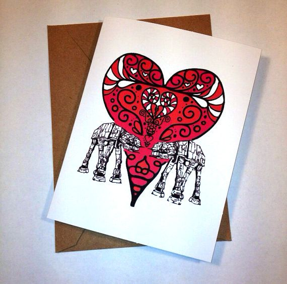 20 Geek Valentines Day Cards Your Nerdy Sweetie is Sure to Love – Different Valentines Cards