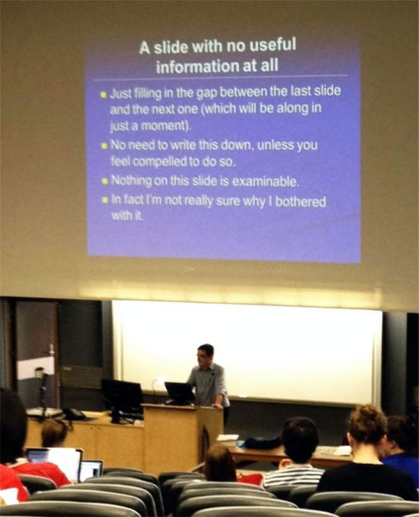 Hilarious Powerpoint Presentations People Will Never Forget