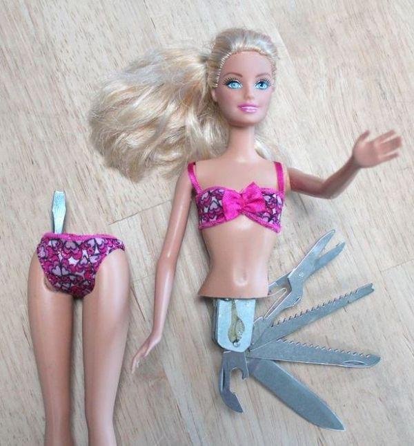 The Swiss Army Barbie Neatorama