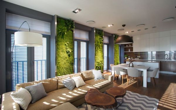This Apartment Has A Garden on Its Walls Neatorama