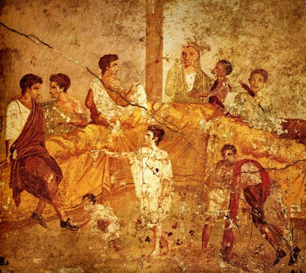 What did the romans eat food and drink in ancient times for Art culture and cuisine ancient and medieval gastronomy