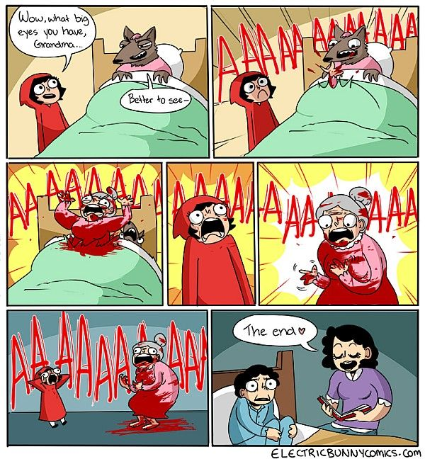 Red Red Riding Hood