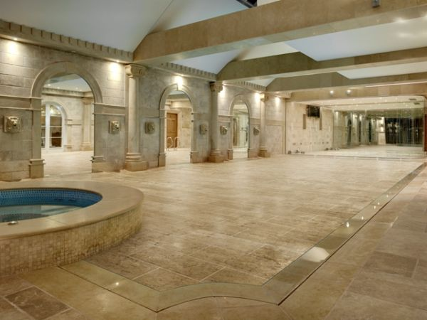 indoor pools are awesome but they also are a huge waste of space when you dont want to go swimming if you have a mansion thats no big deal