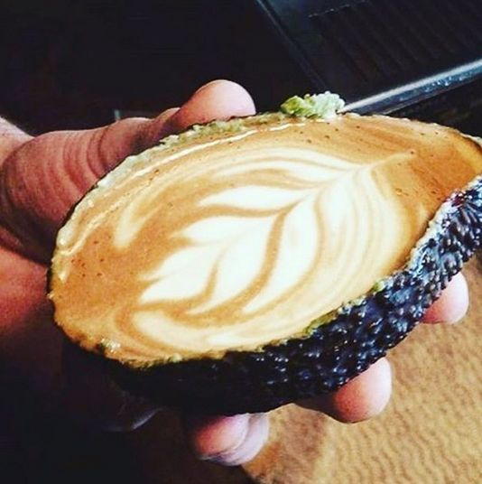Avocado + Latte = Avolatte