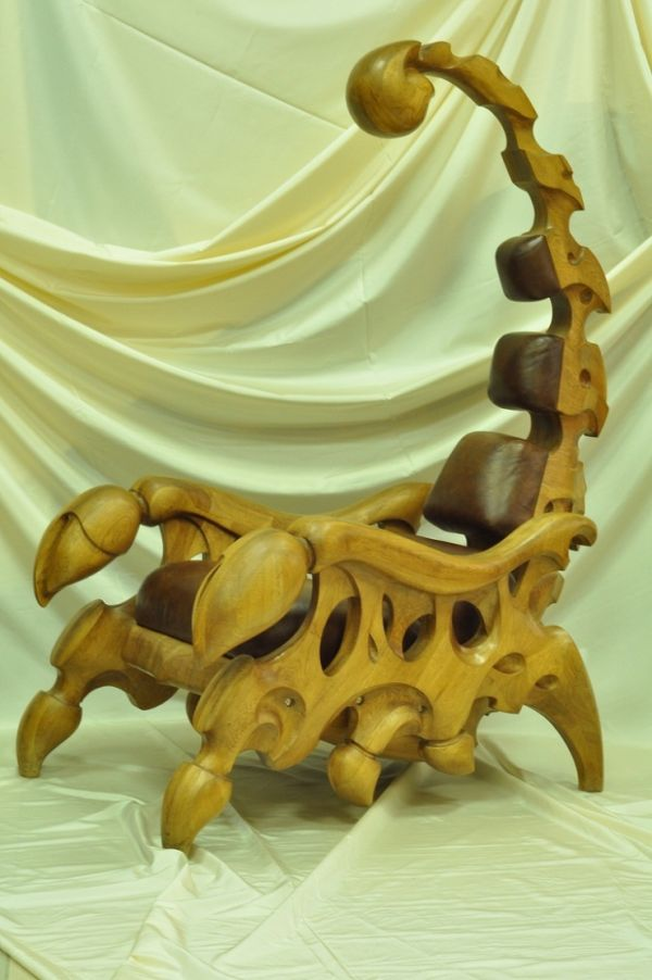 This Scorpion Chair Is Everything I've Ever Wanted In An