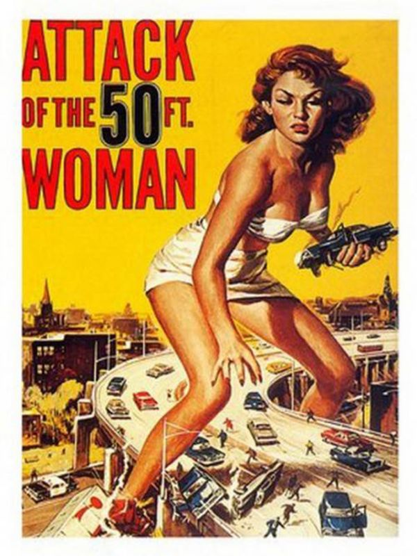 14 Hilarious Vintage Sci-Fi Movie Posters from the 1950s and 1960s ...