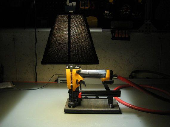 pneumatic nail driver lamp
