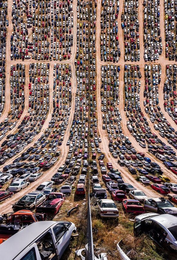 Photographer Aydin Buyuktas Traveled The Western States Of Texas Arizona New Mexico Nevada And California He Then Used Two Drones To Take Pictures