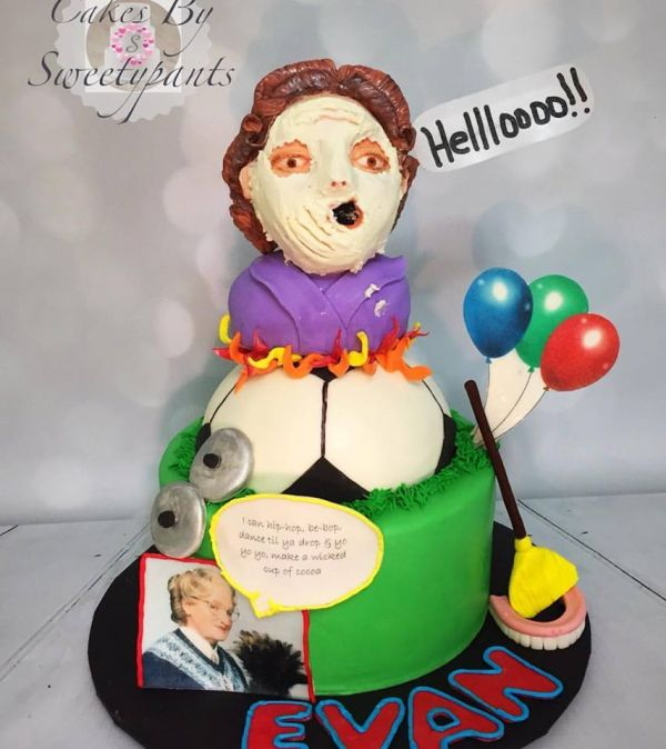 A <i>Mrs. Doubtfire</i>-Themed Birthday Party