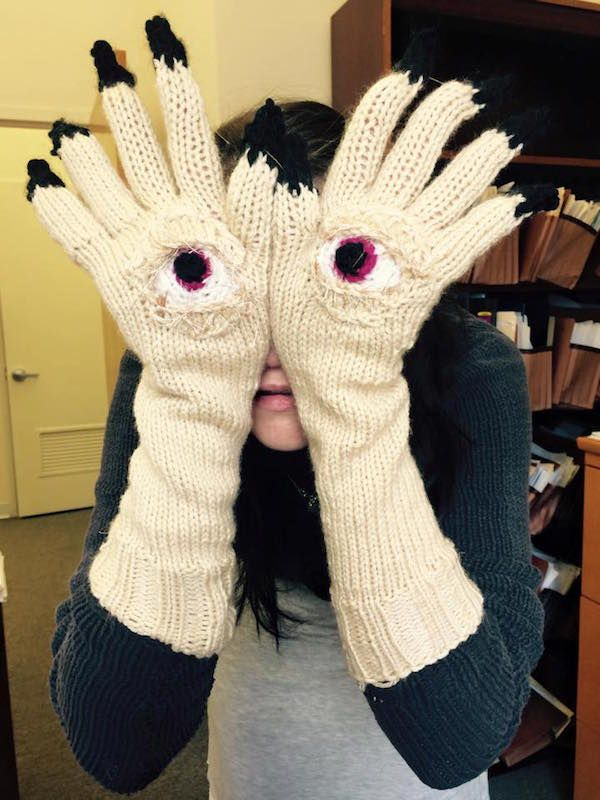 You U0026 39 Ll Be Cozy And Warm With These Cool And Creepy Gloves