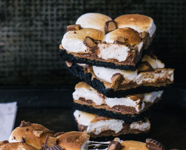 peanut butter cup Oreo s'mores