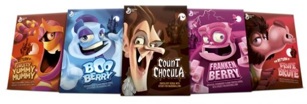 All Five Monster Cereals Coming for Halloween - Neatorama