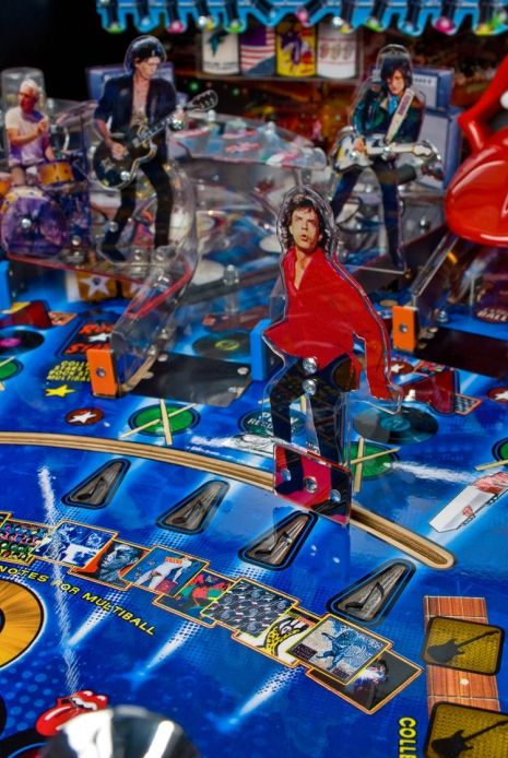 These Pinball Machines Really Rock Neatorama