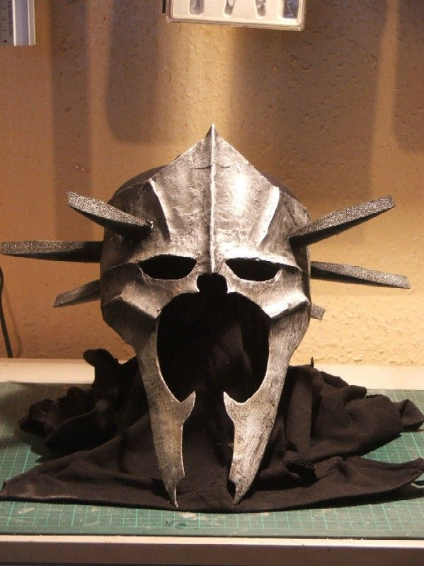 How To Make Your Own Nazgul Mask Neatorama