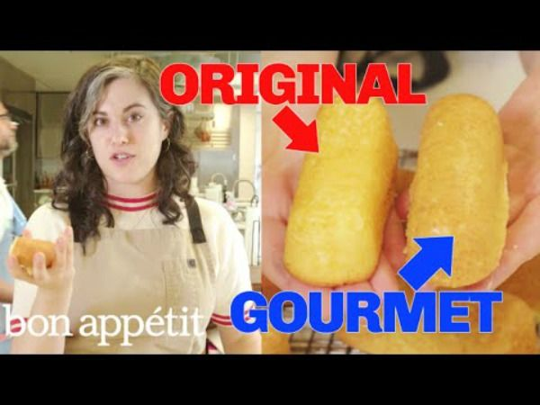 Pastry Chef Attempts To Make A Gourmet Twinkie
