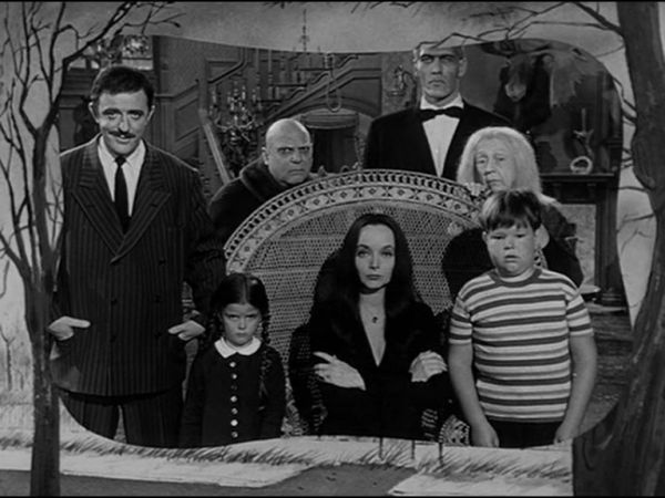 its a 5825 square foot mansion that mimics the munster home right down to the crooked weathervane and the grand staircase that opens up every halloween - Munsters Halloween Episode