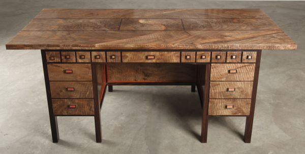 This Amazing Desk Is An Enormous Puzzle Box And Pipe Organ