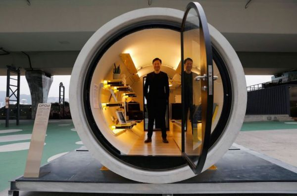Hong Kong Architects Design Houses Made From Water Tubes