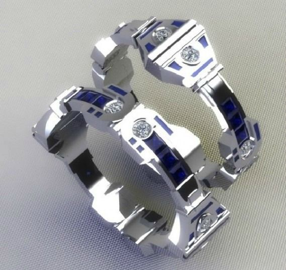 15 Awesome Geek Wedding Rings Neatorama