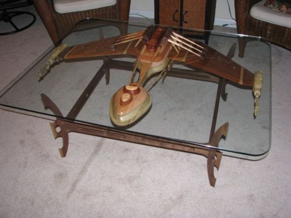 Perfect Klingon Warship Coffee Table Amazing Pictures