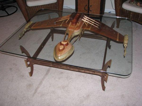 Klingon Warship Coffee Table - Coffee-table Posts