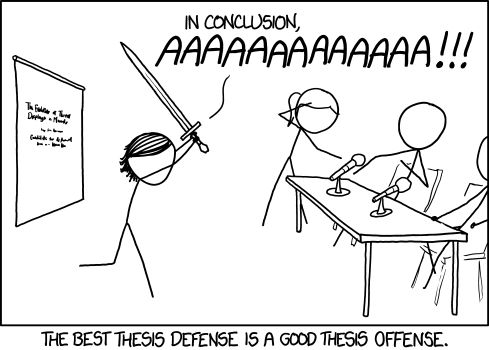 How to defend dissertation