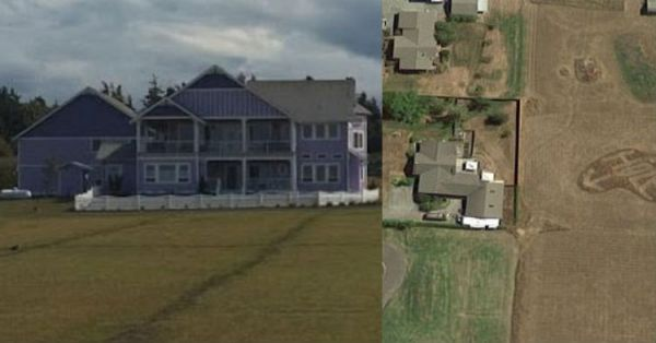 Feuding Neighbor Gets Revenge In A Way Only Google Earth Can See