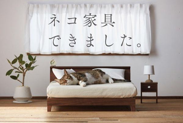 Japanese Design Collective Okawa Kagu Came Up With The Idea To Make High  Quality Cat Sized Furniture When They Realized The Internetu0027s Obsession  With Cats ...