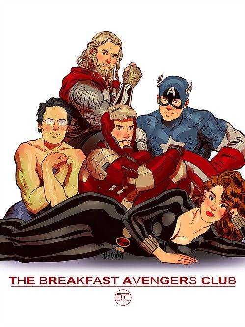 superheroes in classic 80s movie posters neatorama