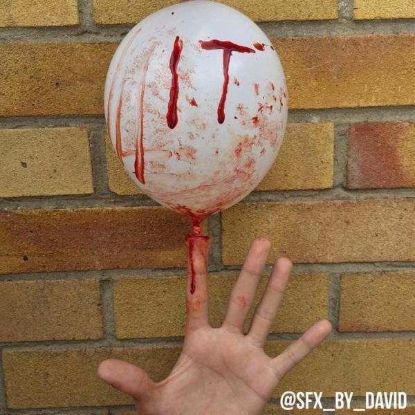 Makeup Artist Creates Gruesome Special FX That Will Make You Grin