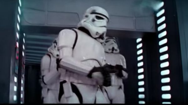 The Stormtrooper Who Banged His Head in Star Wars