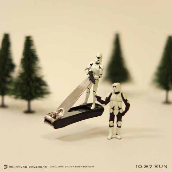 Artist Creates Miniature Dioramas Every Day Of The Year Neatorama - Artist creates miniature paintings everyday entire year