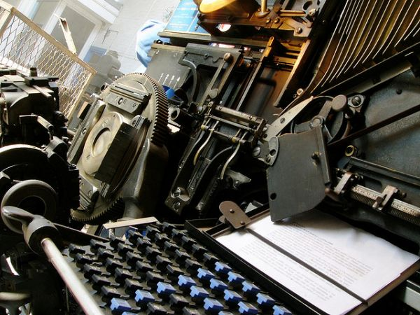 linotype machine