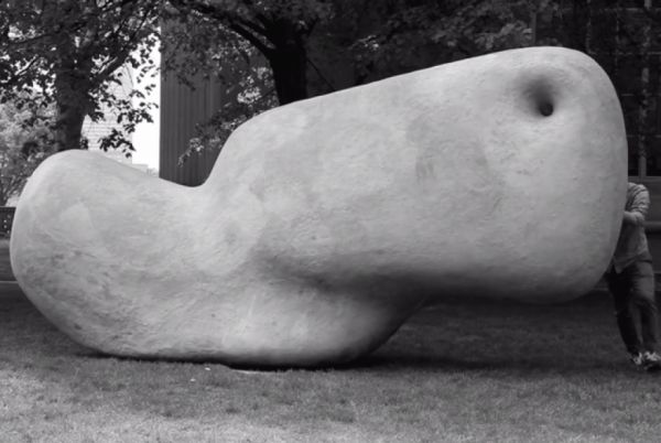 This 2000-lb Sculpture Was Made To Be Moved With One Fingertip