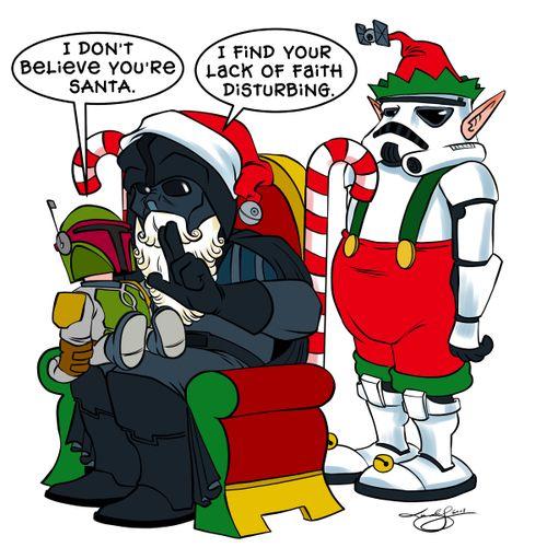 The Star Wars on Christmas - Neatorama