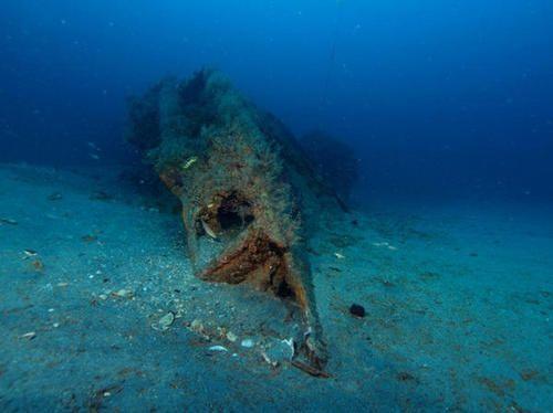 Submarino alemán hundido