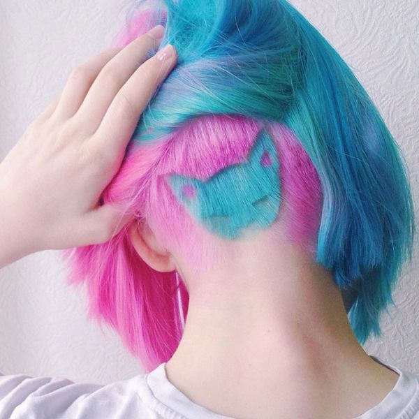 Hairstyle: Cat Shaved into the Back of Your Head - Neatorama