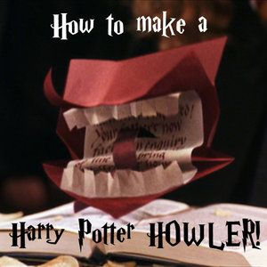 Related easy money origami instructions for kids easy money origami - How To Make Your Own Howler A La Harry Potter Neatorama